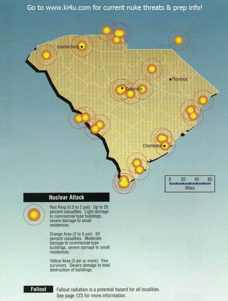 Nuclear war fallout shelter survival info for south carolina with south carolina targets publicscrutiny Choice Image