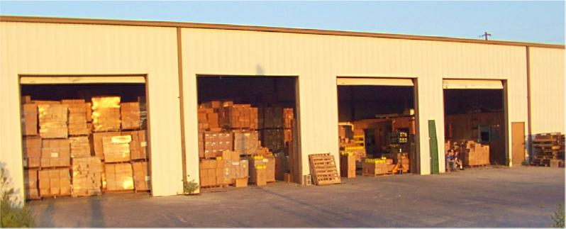 Our warehouse in Gonzales, Texas...